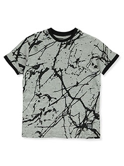 Boys' Allover print Paint Drip T-Shirt by Phat Farm in black, heather gray, white and more