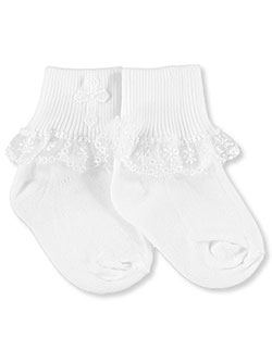 Piccolo Girls Christening Socks (Sizes 3 – 5.5) - CookiesKids.com