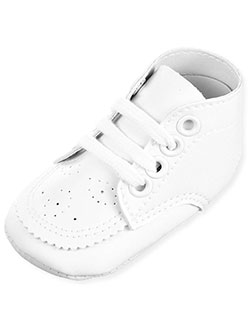 Big Oshi Baby Unisex Perforated Hi-Top Sneakers (Sizes 0 – 4) - CookiesKids.com
