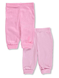 Baby Girls' 2-Pack Pants by Big Oshi in Pink - $5.99
