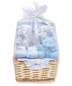 Baby Boys' 9-Piece Gift Set by Big Oshi in Blue