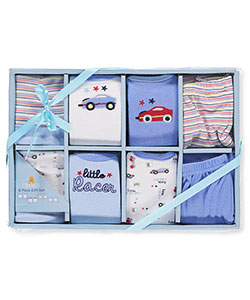 Baby Boys' 8-Piece Layette Set by Big Oshi in Blue