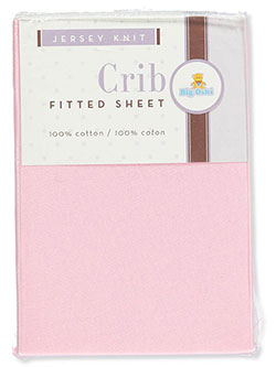 Fitted Crib Sheet by Big Oshi in Pink
