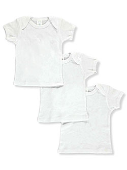 Unisex Baby 3-Pack T-Shirts by Big Oshi in White