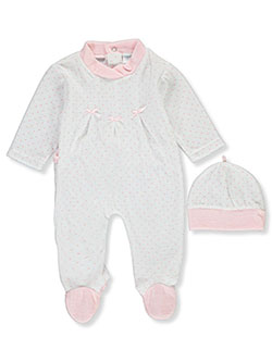 Baby Girls' 2-Piece Layette Set by Big Oshi in Multi