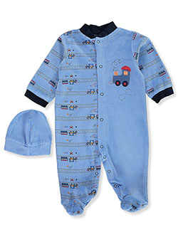 Baby Boys' 2-Piece Train Layette Set by Big Oshi in Multi