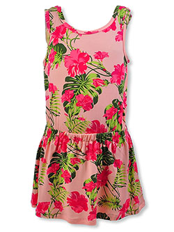 Girls' Sleeveless Floral Dress by Poof Girl in Pink - $7.99