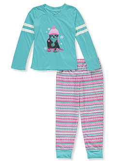 Girls' Keep Cozy 2-Piece Pajamas by Candie's Girl in Multi