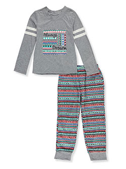 Girls' Always Dream 2-Piece Pajamas by Candie's Girl in Multi