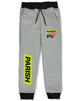 Boys' N6 P5 Joggers by Parish Nation in Heather gray, Boys Fashion