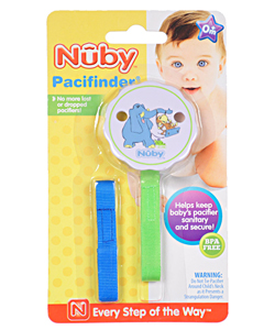 Nuby Pacifinder Clip – Elephant & Monkey - CookiesKids.com