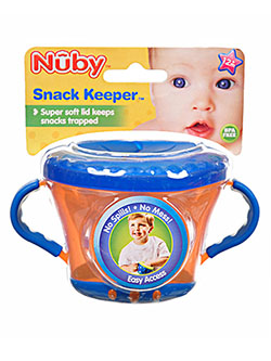 Snack Keeper by Nuby in blue, green, red and yellow
