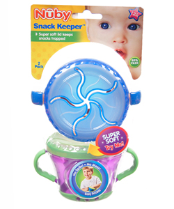 Nuby Snack Keeper 2-Pack - CookiesKids.com