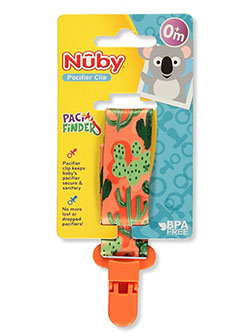 Nuby Pacifinder Ribbon Pacifier Clip - CookiesKids.com