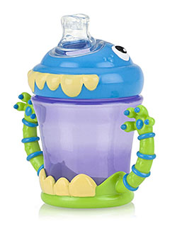 """iMonster"" No-Spill Cup by Nuby in Blue/purple"