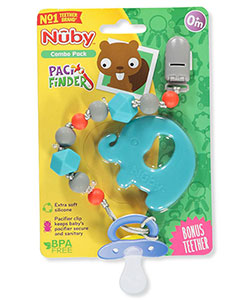 Pacifinder Combo Set by Nuby in Blue/multi