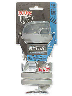 Flip-It Active Sipper Cup by Nuby in Gray multi, Infants