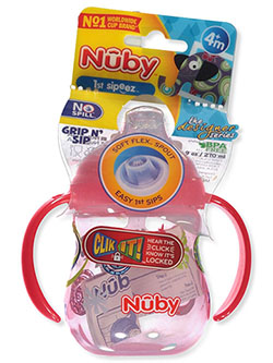 1st Sipeez Grip 'n Sip Sipper Cup by Nuby in aqua, blue, pink and more