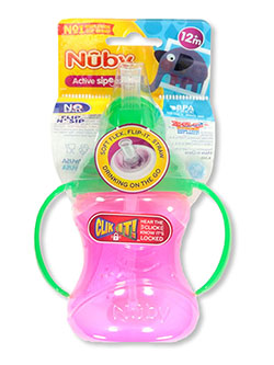 Active Sipeez Flip 'n Sip Sipper Cup by Nuby in blue, green, teal and more