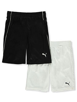 Boys' 2-Pack Athletic Shorts by Puma in Black