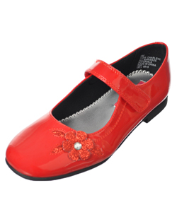"Rachel Girls ""Charlene"" Mary Jane Shoes (Youth Sizes 13 – 4) - CookiesKids.com"