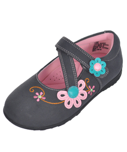 "Rachel Girls' ""Susie"" Mary Jane Shoes (Toddler Sizes 6 – 12) - CookiesKids.com"