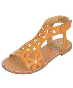 "Rachel Girls' ""Delmar"" Sandals (Youth Sizes 13 – 5) - CookiesKids.com"