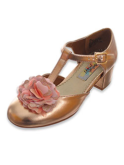 Girls' Elena Mini Pumps by Rachel in Rose