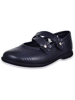 Girls' Alexandra Mary Jane Shoes by Rachel in Navy