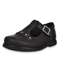 Girls' Emmy T-Strap Shoes by Rachel in Black