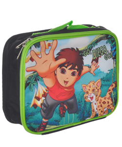"Go, Diego, Go! ""Jungle Fun"" Insulated Lunchbox - CookiesKids.com"