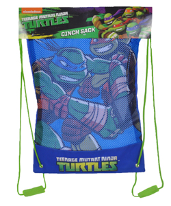 "TMNT ""Rush into Action"" Cinch Sack - CookiesKids.com"