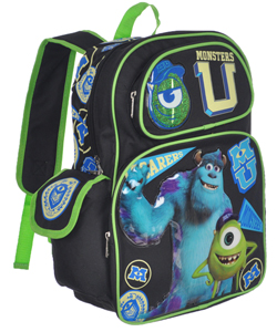 "Monsters University ""Scare Training"" Backpack - CookiesKids.com"
