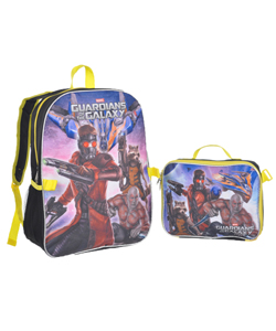 "Guardians of the Galaxy ""On Guard"" Backpack with Lunchbox - CookiesKids.com"