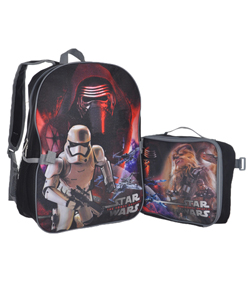 "Star Wars ""Chewie Battle Cry"" Backpack with Lunchbox - CookiesKids.com"
