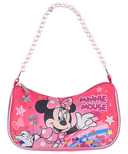 "Minnie Mouse ""Rainbow Wave"" Shoulder Purse - CookiesKids.com"