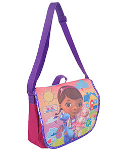 "Doc McStuffins ""Happy Trio"" Messenger Bag - CookiesKids.com"
