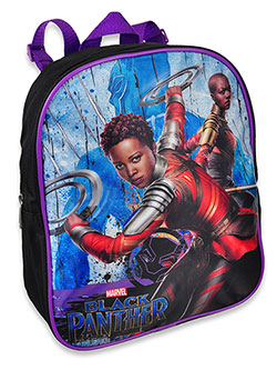 Marvel Black Panther Mini Backpack by Black Panther in Black/purple