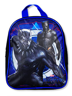 Marvel Black Panther Dual King Mini Backpack by Black Panther in Blue/black
