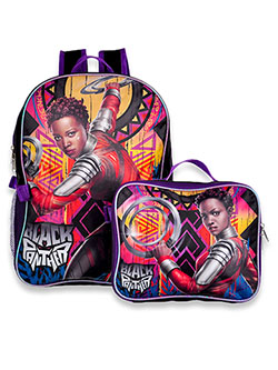 Black Panther Backpack & Lunchbox Set by Marvel in Black