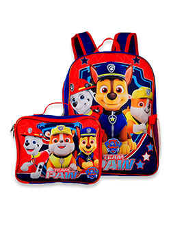 Team Paw Backpack & Lunchbox Set by Paw Patrol in Blue, School Uniforms