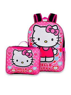 Backpack & Lunchbox Set by Hello Kitty in Multi - $16.99