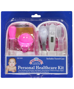 7-Piece Personal Healthcare Kit by Baby King in Pink