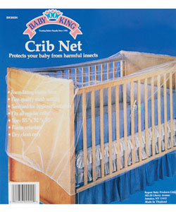Crib Net by Baby King in White - $8.99