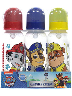 """Safety Plans"" 3-Pack Bottles by Paw Patrol in Red/multi"