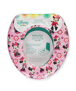 "Minnie Mouse ""Soft Floral"" Potty Seat by Disney in Pink"