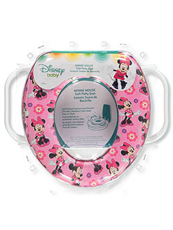 Minnie Mouse Soft Potty Seat by Disney in White/multi