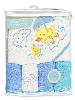 Baby Boys' 5-Piece Bath Set by Petite L'amour in Blue/multi - $16.00