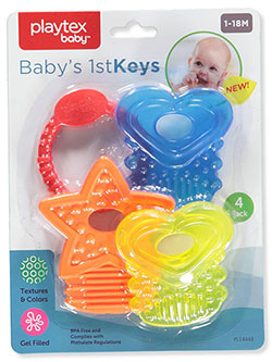 Teether Keyring by Playtex Baby in Multi