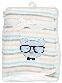 Plush Blanket by Petite L'Amour in White/multi - $13.00